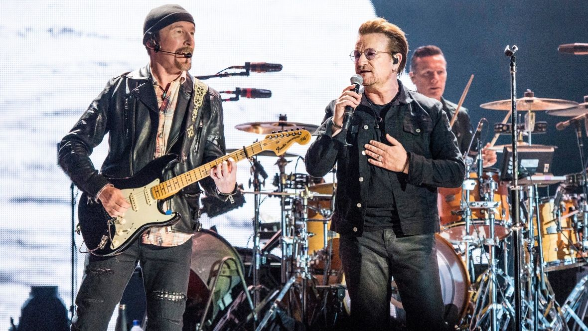 Bono Vox and The Edge