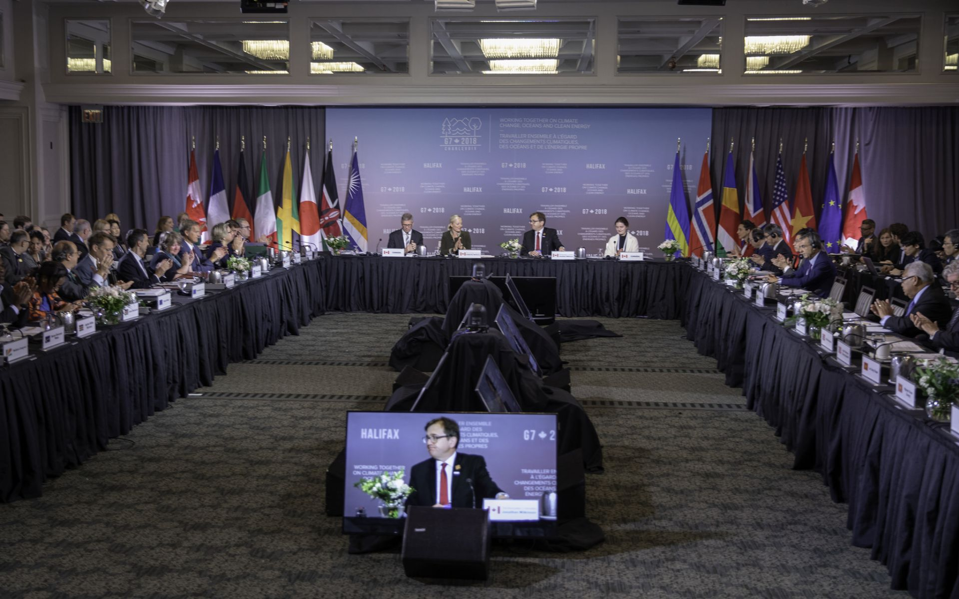 Official photo_Source: #G7Charlevoix on Flick