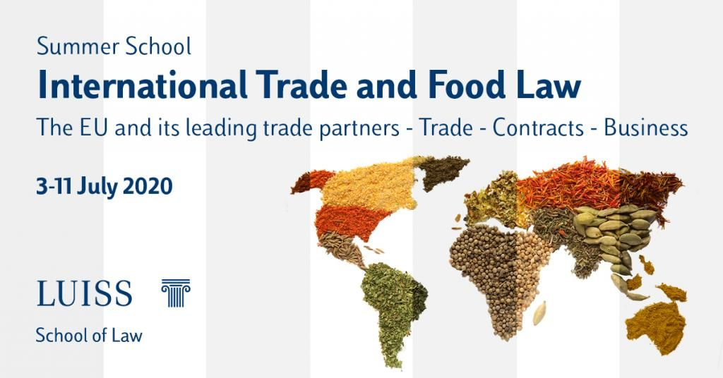 LUISS Summer School 2020: training  on agri-food trade Canada-EU and CETA by CSIC with Nctm Law Firm