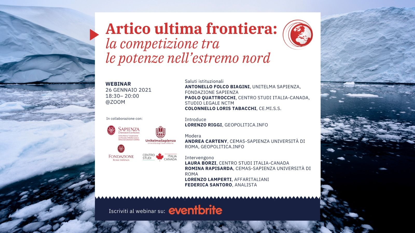 Save The Date | Artico Ultima Frontiera